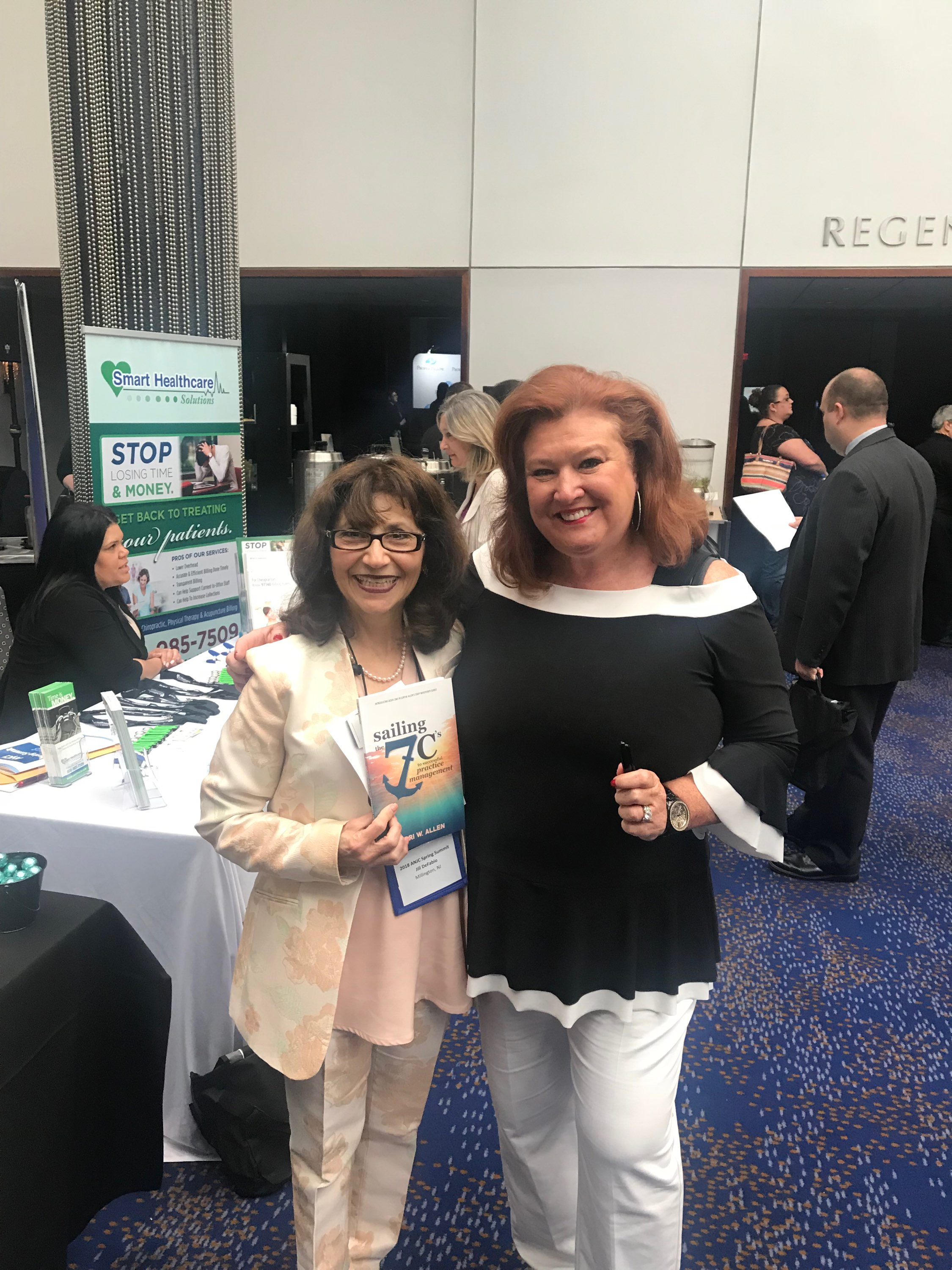 May 2018 Association of New Jersey Chiropractors Lori Book Signing-1