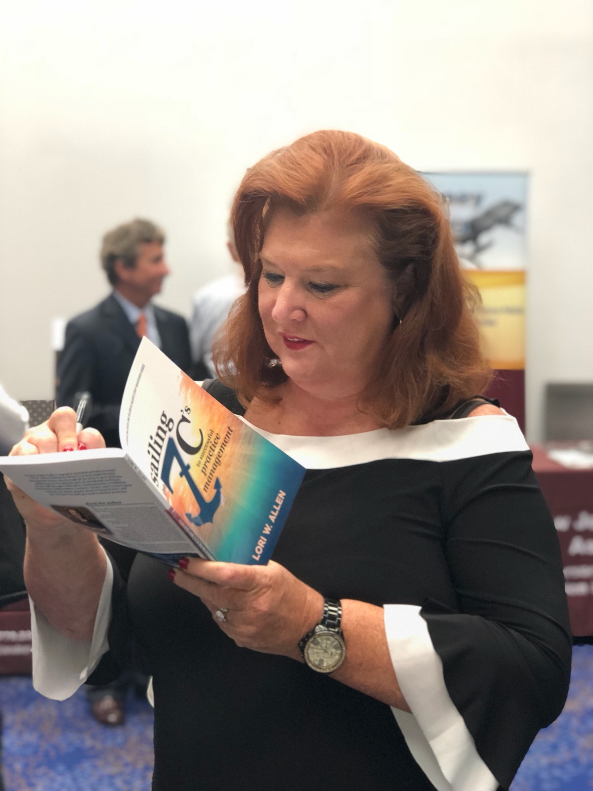 May 2018 Association of New Jersey Chiropractors Lori Book Signing-2