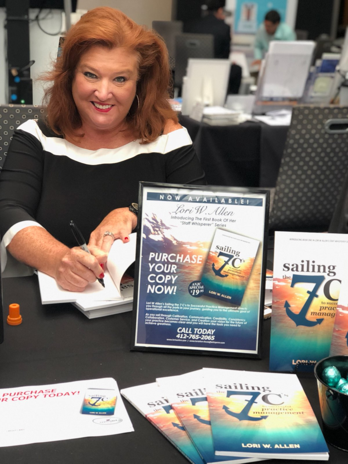May 2018 Association of New Jersey Chiropractors Lori Book Signing-4