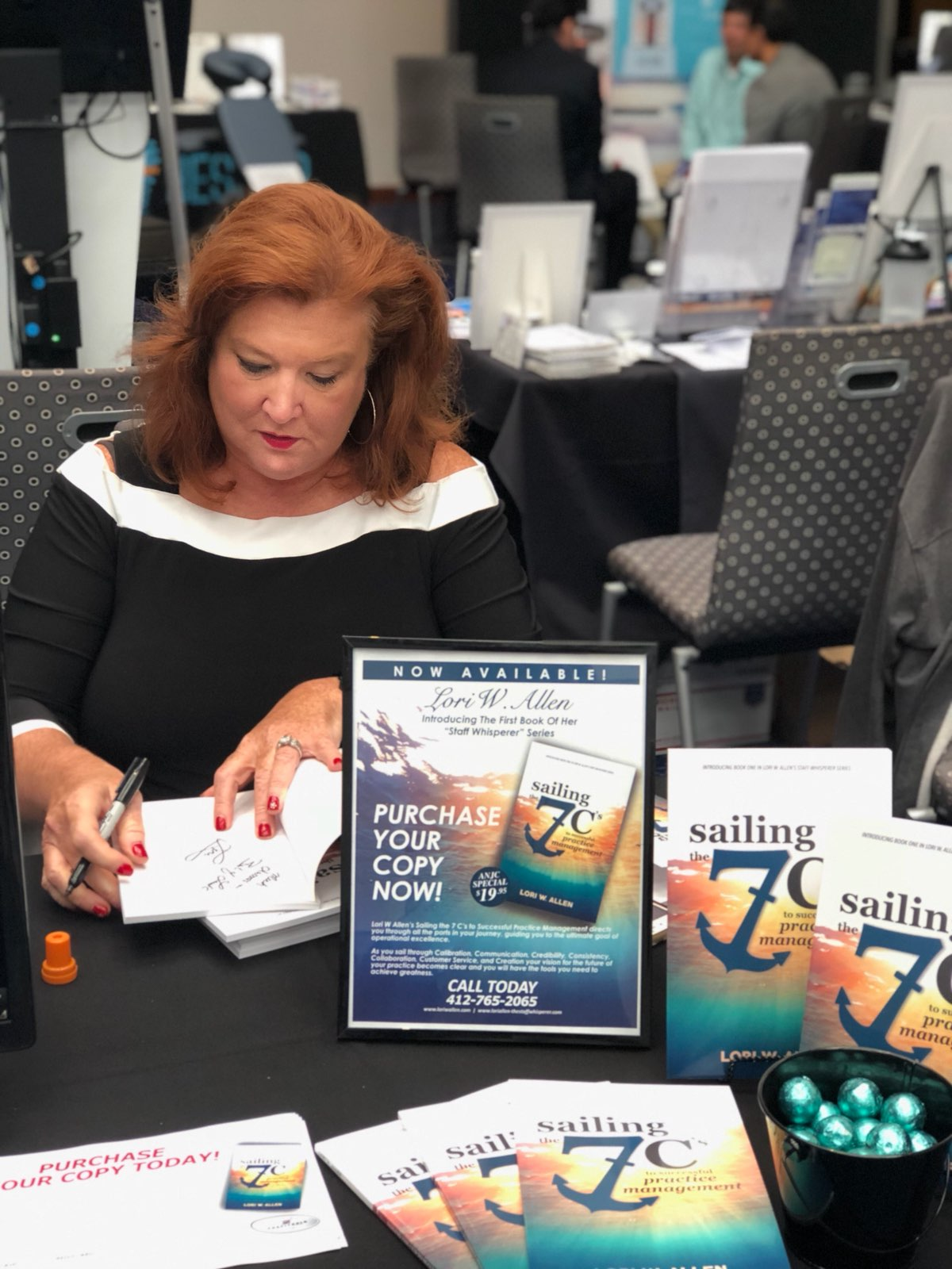 May 2018 Association of New Jersey Chiropractors Lori Book Signing-5
