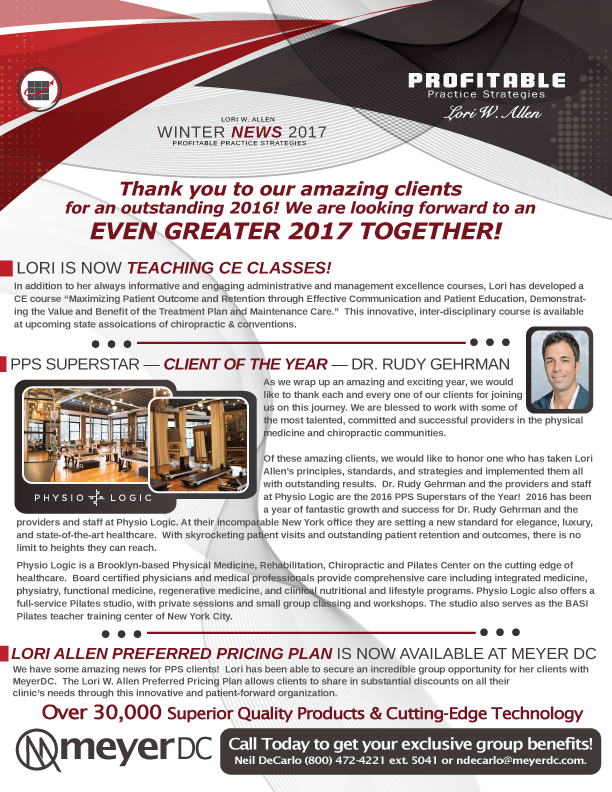 Winter News 2017 Lori W Allen